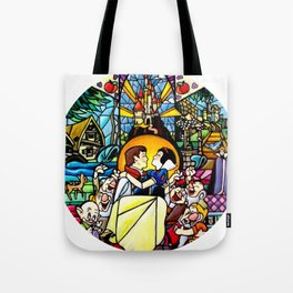 Love's First Kiss Tote Bag