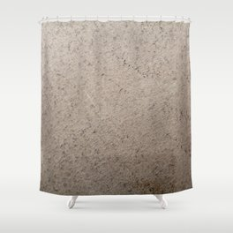 Clay Sandstone Shower Curtain