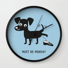 Must Be Monday, Dog Wall Clock