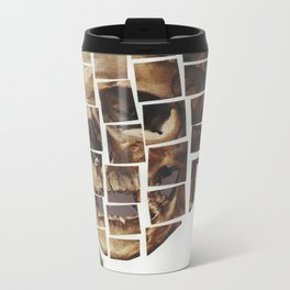 Skull-Saic Metal Travel Mug