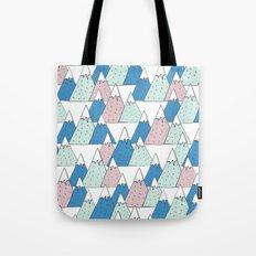 WINTER MOUNTAIN Tote Bag