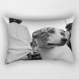 Dog on Wheels Rectangular Pillow