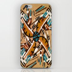Indian Windmill design iPhone Skin