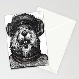 Mr. Beaver Stationery Cards
