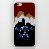 robocop iPhone & iPod Skins featuring RoboCop by iankingart