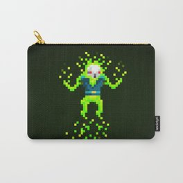 Green Skull Carry-All Pouch