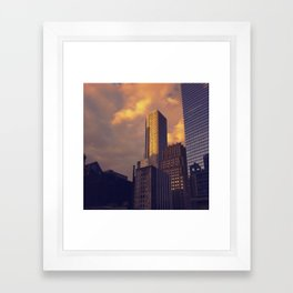Houston Framed Art Print