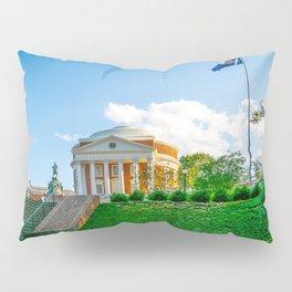 Charlottesville Virginia State Flag Campus Print Pillow Sham