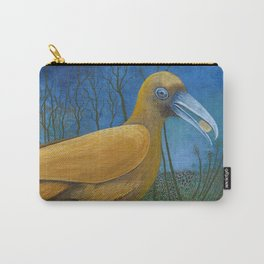 Yellow Bird with Coin Carry-All Pouch