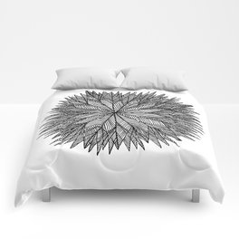 Prickly Star Comforters