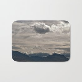 Clouds rolling over Bath Mat