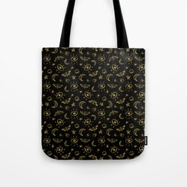 Midnight Coffee Tote Bag