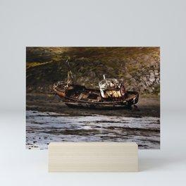 Iceland Wreck Mini Art Print