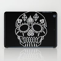 led zeppelin iPad Cases featuring LED Skull by Max Wellsman