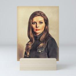 Catherine Schell, Actress Mini Art Print