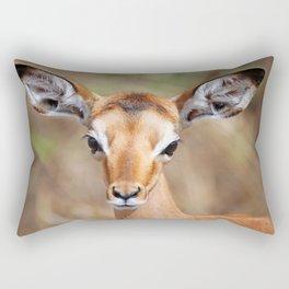 Cute litte Impala, Africa wildlife Rectangular Pillow