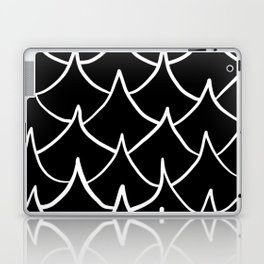 Dark Fish Waves Laptop & iPad Skin