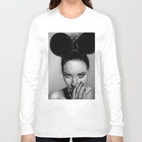 school Long Sleeve T-shirts featuring + Beauty School + by Sandra Jawad