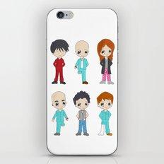 MiniPolseres 1a temporada iPhone & iPod Skin