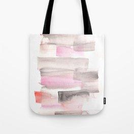 [161216] 18. Slices|Watercolor Brush Stroke Tote Bag