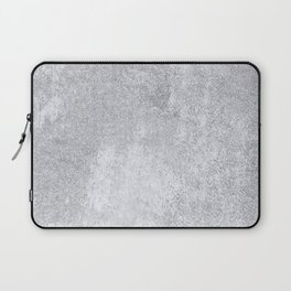 Abstract silver paper Laptop Sleeve