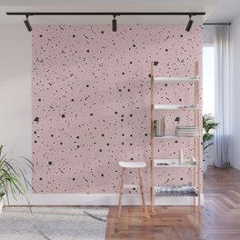 Speckled Pink Wall Mural