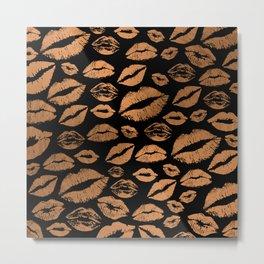 Lips 21 Metal Print