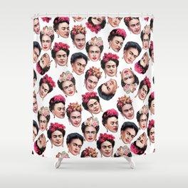 Fab Frida Shower Curtain
