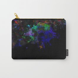 Dark Splats Carry-All Pouch