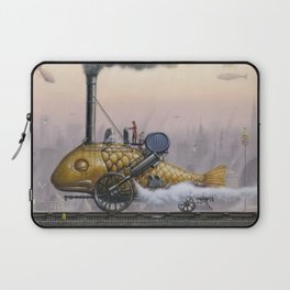 Steamed Fish Laptop Sleeve