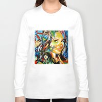 cassandra jean Long Sleeve T-shirts featuring Cassandra by Phil Fung
