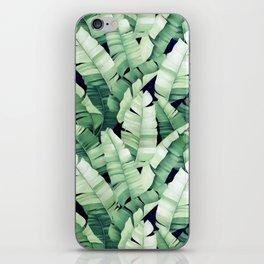 Banana leaves III iPhone Skin