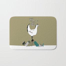 Cocky Cock Bath Mat