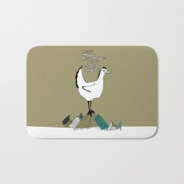 Cocky Cock Bath Mat