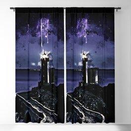 lighthouse plouzane wscl Blackout Curtain