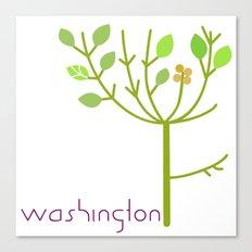 Washington Tree Canvas Print