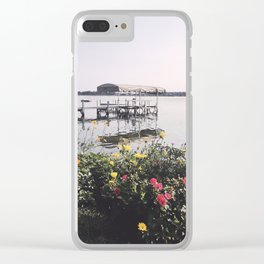 Late Summer on the Lake, Wisconsin Clear iPhone Case