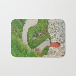 Oslo Fortress - Red Door Bath Mat