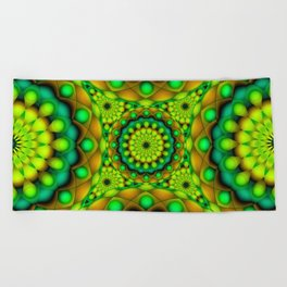 Psychedelic Visions G146 Beach Towel