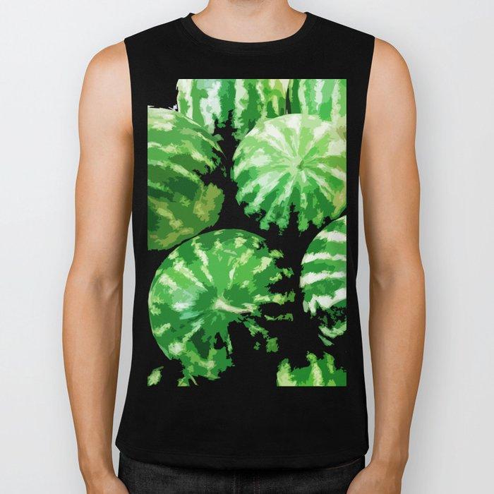Watermelons Biker Tank