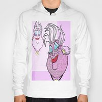 ursula Hoodies featuring Ursula by grapeloverarts