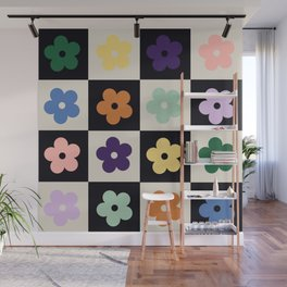 Bloom Check Multi Wall Mural