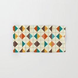 Retro Tiles #1 Hand & Bath Towel