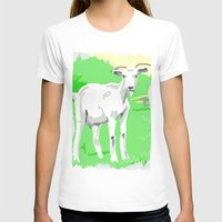 goat T-shirts featuring Goat by wingnang