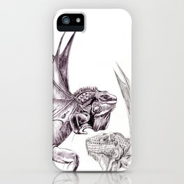 Two Dragons iPhone Case