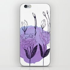 lisianthus iPhone & iPod Skin