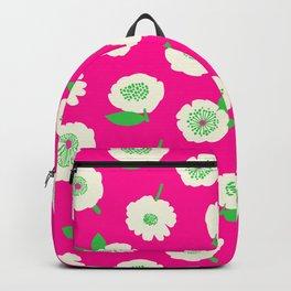 Floating Flower Pink Backpack