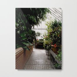 Biltmore Greenhouse Metal Print
