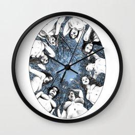 asc 783 Les piliers du ciel (The last meal) Wall Clock