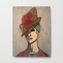 Madame Thierry Metal Print
